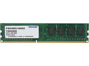 Patriot Signature Line 8GB 240-Pin DDR3 SDRAM DDR3 1600 (PC3 12800) Desktop Memory Model PSD38G16002