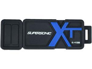 Patriot Memory 64GB Supersonic Boost XT USB 3.0 Flash Drive, Speed Up to 150MB/s Durable Rubber Housing (PEF64GSBUSB)