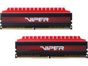 Patriot Viper 4 16GB (2 x 8GB) 288-Pin DDR4 SDRAM DDR4 3000 (PC4 24000) Intel XMP 2.0 Extreme Performance Memory, Black Sides / Red Top Model PV416G300C6K