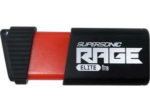 Patriot Supersonic Rage Elite 1TB USB 3.1, Gen. 1 (USB 3.0) Flash Drive Model PEF1TBSRE3USB