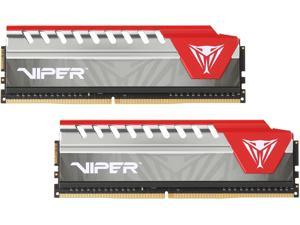 Patriot Viper Elite 16GB (2 x 8GB) 288-Pin DDR4 SDRAM DDR4 2400 (PC4 19200) Desktop Memory Model PVE416G240C5KRD