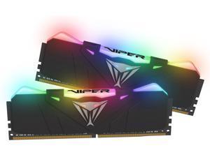 Patriot Viper RGB 16GB (2 x 8GB) 288-Pin DDR4 SDRAM DDR4 4133 (PC4 33000) Intel XMP 2.0 Desktop Memory Model PVR416G413C9K