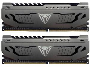 Patriot Viper Steel 16GB (2 x 8GB) 288-Pin DDR4 SDRAM DDR4 4400 (PC4 35200) Intel XMP 2.0 Desktop Memory Model PVS416G440C9K