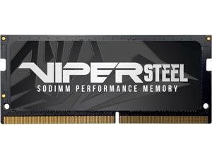 Patriot Viper Steel 8GB 260-Pin DDR4 SO-DIMM DDR4 2666 (PC4 21300) Laptop Memory Model PVS48G266C8S