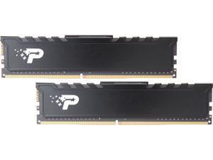 Patriot Signature Line Premium 16GB (2 x 8GB) 288-Pin DDR4 SDRAM DDR4 2666 (PC4 21300) Desktop Memory Model PSP416G2666KH1