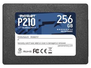 "Patriot P210 2.5"" 256GB SATA III Internal Solid State Drive (SSD) P210S256G25"