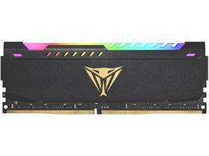 Patriot Viper Steel RGB 8GB 288-Pin DDR4 SDRAM DDR4 3600 (PC4 28800) Intel XMP 2.0 Desktop Memory Model PVSR48G360C0