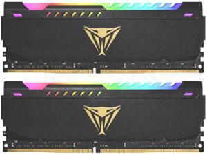 Patriot Viper Steel RGB 16GB (2 x 8GB) 288-Pin DDR4 SDRAM DDR4 3600 (PC4 28800) Intel XMP 2.0 Desktop Memory Model PVSR416G360C0K