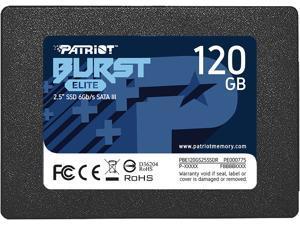 "Patriot Burst Elite 2.5"" 120GB SATA III Internal Solid State Drive (SSD) PBE120GS25SSDR"