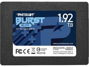 """Patriot Burst Elite 2.5"""" 1.92TB SATA III Internal Solid State Drive (SSD) PBE192TS25SSDR"""