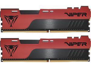 Patriot Viper Elite II 32GB (2 x 16GB) 288-Pin DDR4 SDRAM DDR4 3200 (PC4 25600) Intel XMP 2.0 Desktop Memory Model PVE2432G320C8K