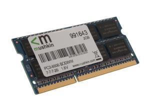 Mushkin Enhanced 2GB 204-Pin DDR3 SO-DIMM DDR3 1066 (PC3 8500) Laptop Memory Model 991643