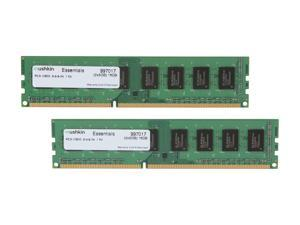 Mushkin Enhanced Essentials 16GB (2 x 8GB) 240-Pin DDR3 SDRAM DDR3 1333 (PC3 10600) Desktop Memory Model 997017