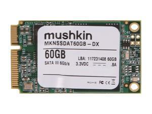 Mushkin Enhanced Atlas Series 60GB Mini-SATA (mSATA) MLC Internal Solid State Drive (SSD) MKNSSDAT60GB-DX