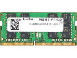 Mushkin Enhanced Essentials 16GB 260-Pin DDR4 SO-DIMM DDR4 2133 (PC4 17000) Laptop Memory Model MES4S213FF16G28
