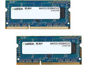 Mushkin Enhanced iRam 8GB (2 x 4GB) DDR3L 1600 (PC3L 12800) Memory for Apple Model MAR3S160BM4GX2