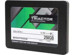"""Mushkin Enhanced TRIACTOR 2.5"""" 250GB SATA III Internal Solid State Drive (SSD) MKNSSDTR250GB"""