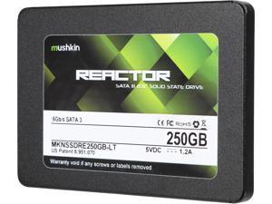 """Mushkin Enhanced Reactor LT 2.5"""" 250GB SATA III MLC Internal Solid State Drive (SSD) MKNSSDRE250GB-LT"""