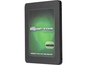 "Mushkin Enhanced Reactor Armor3D 2.5"" 480GB SATA III 3D MLC Internal Solid State Drive (SSD) MKNSSDRE480GB-3D"