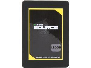 """Mushkin Enhanced Source 2.5"""" 120GB SATA III 3D TLC Internal Solid State Drive (SSD) MKNSSDSR120GB"""