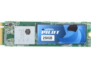 Mushkin Enhanced Pilot M.2 2280 250GB PCIe Gen3 x4 NVMe 1.3 3D TLC Internal Solid State Drive (SSD) MKNSSDPL250GB-D8
