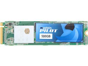 Mushkin Enhanced Pilot M.2 2280 500GB PCIe Gen3 x4 NVMe 1.3 3D TLC Internal Solid State Drive (SSD) MKNSSDPL500GB-D8