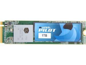 Mushkin Enhanced Pilot M.2 2280 1TB PCIe Gen3 x4 NVMe 1.3 3D TLC Internal Solid State Drive (SSD) MKNSSDPL1TB-D8