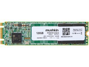 Mushkin Enhanced Source M.2 2280 120GB SATA III 3D TLC Internal Solid State Drive (SSD) MKNSSDSR120GB-D8