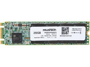 Mushkin Enhanced Source M.2 2280 250GB SATA III 3D TLC Internal Solid State Drive (SSD) MKNSSDSR250GB-D8