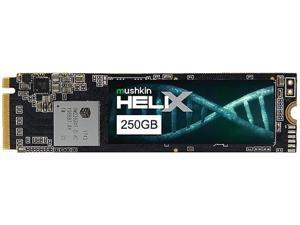 Mushkin Enhanced Helix-L M.2 2280 250GB PCIe Gen3 x4 NVMe 1.3 3D TLC Internal Solid State Drive (SSD) MKNSSDHL250GB-D8