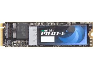 Mushkin Enhanced Pilot-E M.2 2280 1TB PCIe Gen3 x4 NVMe 1.3 3D TLC Internal Solid State Drive (SSD) MKNSSDPE1TB-D8