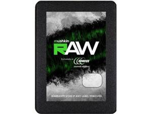 "Mushkin Enhanced RAW Series 2.5"" 2TB SATA III 3D TLC Internal Solid State Drive (SSD) MKNSSDRW2TB"