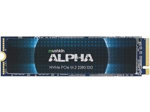 Mushkin Enhanced ALPHA M.2 2280 8TB PCI-e Gen3 x4 NVMe 1.3 3D NAND Internal Solid State Drive (SSD) MKNSSDAL8TB-D8