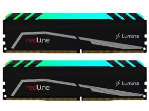 Mushkin Enhanced Redline 64GB (2 x 32GB) 288-Pin DDR4 SDRAM DDR4 3200 (PC4 25600) Desktop Memory Model MLA4C320GJJM32GX2