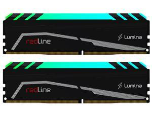 Mushkin Enhanced Redline 16GB (2 x 8GB) 288-Pin DDR4 SDRAM DDR4 4133 (PC4 33000) Desktop Memory Model MLA4C413KOOP8GX2