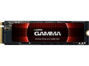Mushkin Enhanced Gamma M.2 2280 1TB PCIe Gen4 x4 NVMe 1.3 3D QLC Internal Solid State Drive (SSD) MKNSSDGA1TB-D8