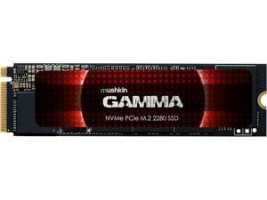 Mushkin Enhanced Gamma M.2 2280 2TB PCIe Gen4 x4 NVMe 1.3 3D QLC Internal Solid State Drive (SSD) MKNSSDGA2TB-D8