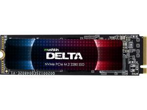 Mushkin Enhanced Delta M.2 2280 1TB PCIe Gen4 x4 NVMe 1.3 3D QLC Internal Solid State Drive (SSD) MKNSSDDE1TB-D8