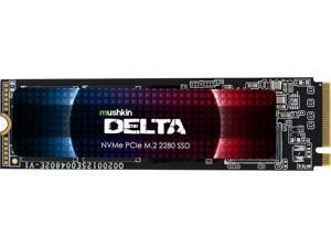 Mushkin Enhanced Delta M.2 2280 4TB PCIe Gen4 x4 NVMe 1.3 3D QLC Internal Solid State Drive (SSD) MKNSSDDE4TB-D8