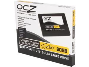 """OCZ Vertex Turbo 2.5"""" 60GB SATA II MLC Internal Solid State Drive (SSD) OCZSSD2-1VTXT60G.RF"""
