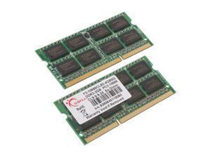 G.SKILL 4GB (2 x 2GB) 204-Pin DDR3 SO-DIMM DDR3 1333 (PC3 10666) Dual Channel Kit Laptop Memory Model F3-10666CL9D-4GBSQ