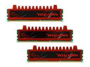 G.SKILL Ripjaws Series 12GB (3 x 4GB) 240-Pin DDR3 SDRAM DDR3 1600 (PC3 12800) Desktop Memory Model F3-12800CL9T-12GBRL