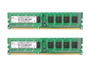 G.SKILL NS 4GB (2 x 2GB) 240-Pin DDR3 SDRAM DDR3 1333 (PC3 10600) Desktop Memory Model F3-10600CL9D-4GBNS