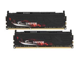 G.SKILL Sniper Series 8GB (2 x 4GB) 240-Pin DDR3 SDRAM DDR3 1600 (PC3 12800) Desktop Memory Model F3-12800CL9D-8GBSR