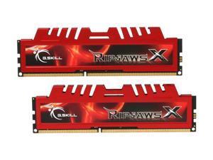 G.SKILL Ripjaws X Series 8GB (2 x 4GB) 240-Pin DDR3 SDRAM DDR3 1333 (PC3 10666) Desktop Memory Model F3-10666CL9D-8GBXL