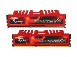 G.SKILL Ripjaws X Series 8GB (2 x 4GB) 240-Pin DDR3 SDRAM DDR3 1600 (PC3 12800) Desktop Memory Model F3-12800CL9D-8GBXL