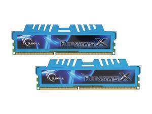 G.SKILL Ripjaws X Series 4GB (2 x 2GB) 240-Pin DDR3 SDRAM DDR3 1333 (PC3 10666) Desktop Memory Model F3-10666CL8D-4GBXM