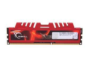 G.SKILL Ripjaws X Series 8GB 240-Pin DDR3 SDRAM DDR3 1600 (PC3 12800) Desktop Memory Model F3-12800CL10S-8GBXL