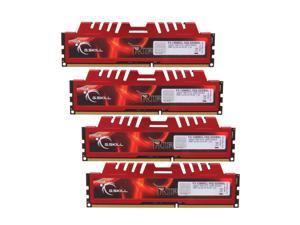 G.SKILL Ripjaws X Series 32GB (4 x 8GB) 240-Pin DDR3 SDRAM DDR3 1600 (PC3 12800) Desktop Memory Model F3-12800CL10Q-32GBXL