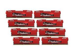 G.SKILL Ripjaws Z Series 32GB (8 x 4GB) 240-Pin DDR3 SDRAM DDR3 1866 (PC3 14900) Desktop Memory Model F3-14900CL9Q2-32GBZL